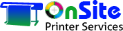 Onsite Print Service Logo